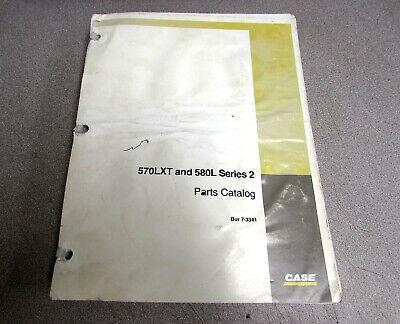 Case 570lxt 580l Series 2 Loader Parts Catalog Manual 7-3341 1998