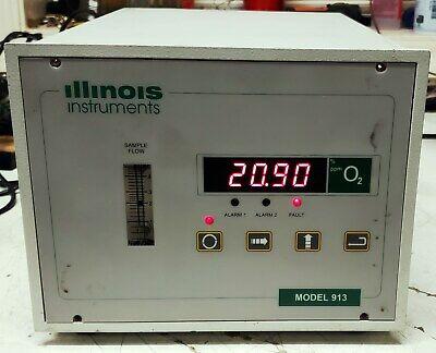 Illinois 913 Process Oxygen Analyzer