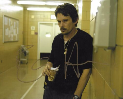 Ethan Hawke autographed Training Day Alive Legend Movie Actor Rare COA LOOK!!
