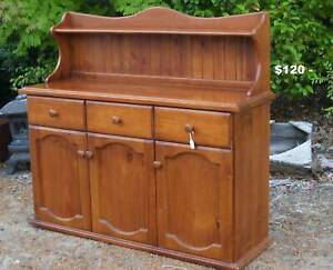 Solid pine Sideboard ,other buffets cabinets etc Martin Gosnells Area Preview