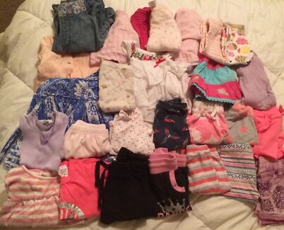 Size 00 baby girl clothes