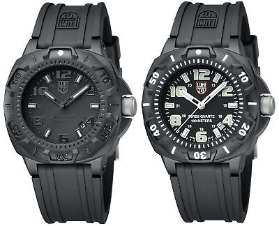 Gents Carbon - Luminox Men's 0201 Black Carbon-Reinforced Sentry Watch - Choice of Color