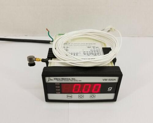 PCB 352C65 Platinum Stock Sensor Mini ICP Accelerometer w/ Vibra Metrics VM500A
