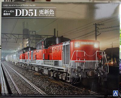 Japanische Diesellok DD 51 No. 3 1:45 Aoshima 009987