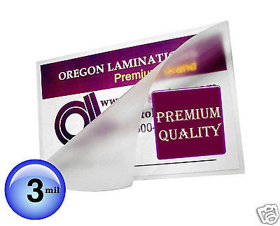 Hot 8x10 Photo Laminating Pouches 3 Mil 8-14 X 10-14 100 Clear By Oregonlam