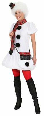Damen Kostüm Schneemann lustig verkleiden zu Karneval Fasching - Schneemann Kostüm Damen