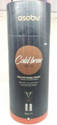 Asobu Coldbrew Portable Cold Brew Coffee Maker Vacuum Insula