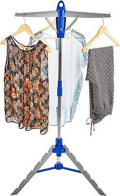 Andrew James Indoor Clothes Airer Dryer Hanger Horse Portable Folding Stand