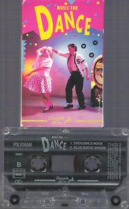 """Cassette Audio K7 """"Music For DANCE"""" - France - État : Trs bon état: Objet ayant déj servi, mais qui est toujours en trs bon état. Le botier ou la pochette ne présente aucun dommage, aucune éraflure, aucune rayure, aucune fissure ni aucun trou. Pour les CD, le livret et le texte l'arrire - France"""