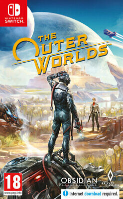 The Outer Worlds (Switch)  PRE-ORDER - RELEASED 05/06/2020 - NEW AND SEALED
