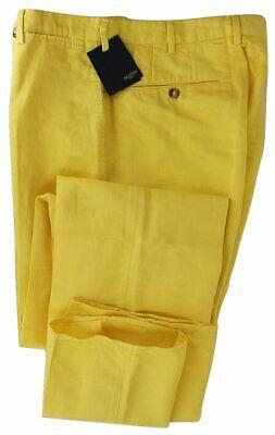 Incotex - Yellow Chinolino Pants, Sz 32-40, MSRP $325