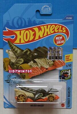 Hot Wheels 2020 Calle Beasts Veloci-Racer Precinto de Fábrica Con +