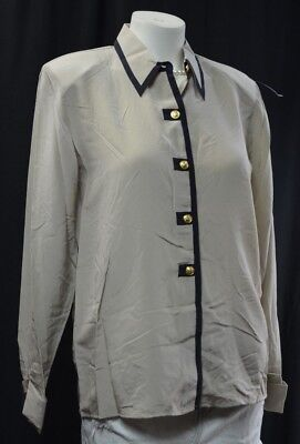Anna and Frank womens long sleeve blouse Dress Button up shi