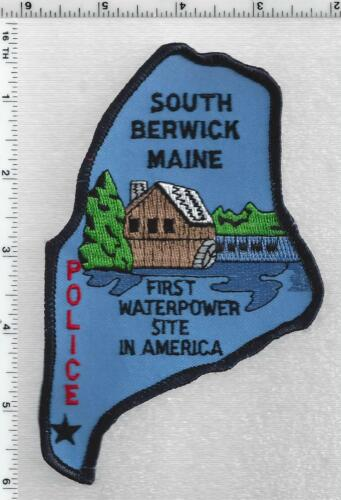 South Berwick Police (Maine) 1st Issue Shoulder Patch