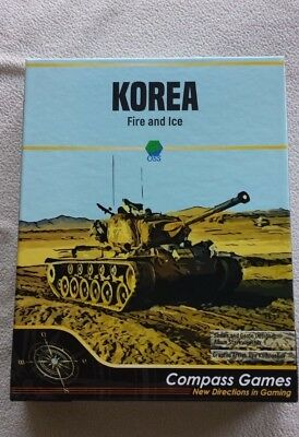 KOREA Fire and Ice - Compass Games - Wargame - Like new for sale  Shipping to Nigeria