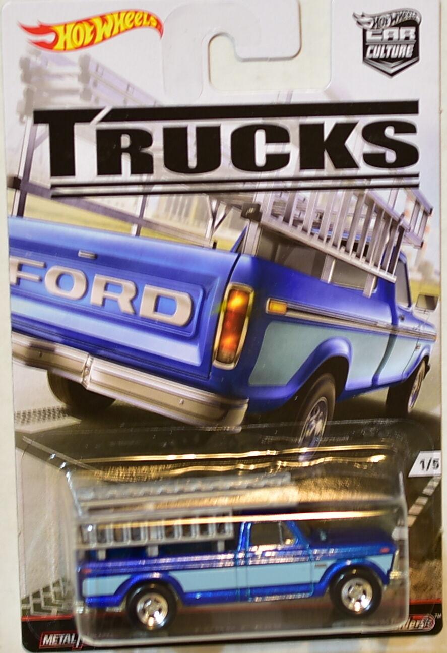 hot wheels 2016 car culture trucks series ford f. Black Bedroom Furniture Sets. Home Design Ideas
