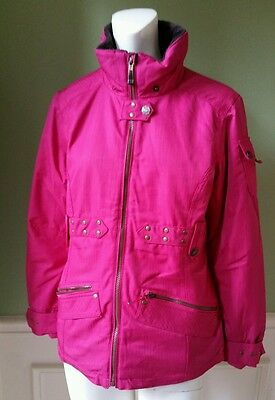 Junior Snowboard Clothing - EUC Girl's/Junior OBERMEYER Ski Snowboarding Jacket Insulated Pink Size 16