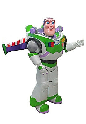 Birthday Halloween Costume (Buzz Lightyear Robot Toy Story Mascot Costume Party Character Birthday)