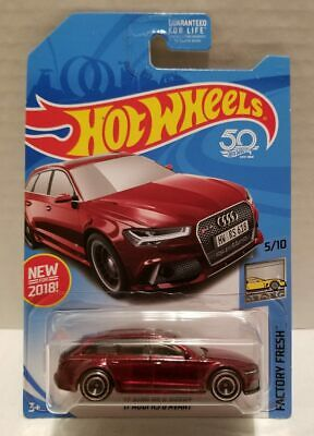 2018 Hot Wheels SUPER TREASURE HUNT '17 Audi RS 6 AVANT factory fresh 5/10
