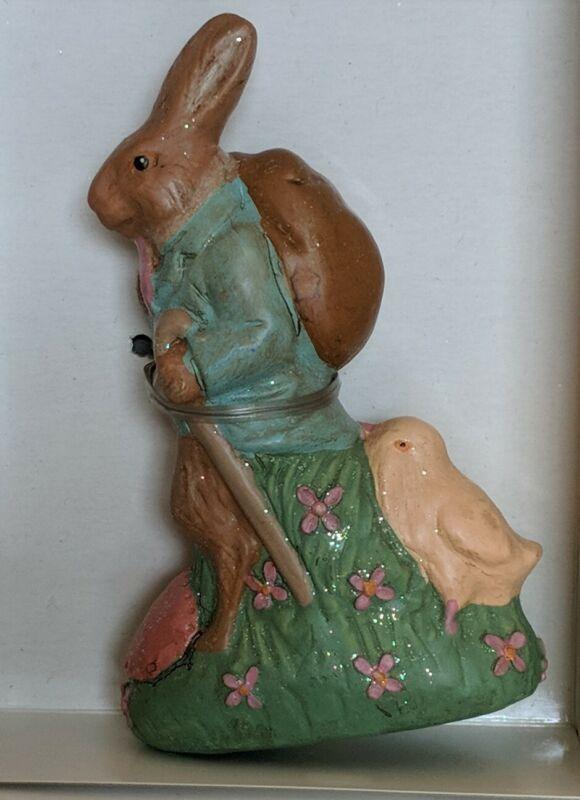 KURT S ADLER ksa Bunny Rabbit easter Figurine chick Vintage
