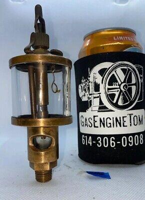 No. 1 12 Brass Cylinder Oiler Hit Miss Engine Antique Steampunk Vintage