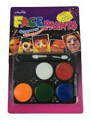 Erwachsene / Kinder`s Halloween Gesicht und Körperfarbe Make-up Satz Kostüm ()