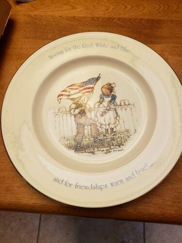 Holly Hobbie Freedom Series 1776-1976 Plate