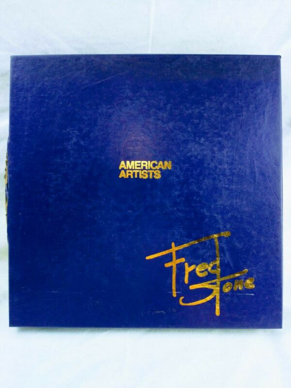 American Artists Fred Stone The Old Warriors Unsigned Plate #471
