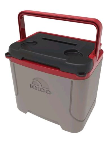 Igloo 16-Quart Cooler Ice Chest with Media Slot for Hands-Fr