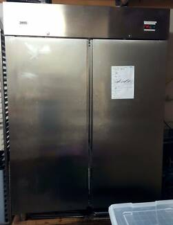 Electrolux (Zanussi) 2 DOOR STAINLESS STEEL UPRIGHT FREEZER 1300L Brookvale Manly Area Preview