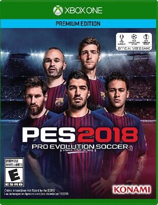 XBOX ONE XB1 VIDEO GAME PRO EVOLUTION SOCCER 2018 BRAND NEW AND SEALED