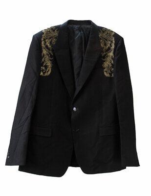 VERSACE Collection Men's Barocco Shoulder Blazer IT 56R $1,800 NEW
