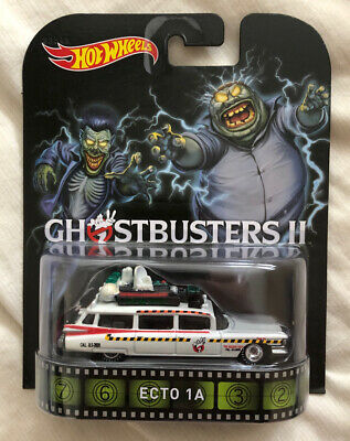 Hot Wheels Retro Entertainment Ghostbusters II 2 ECTO 1A