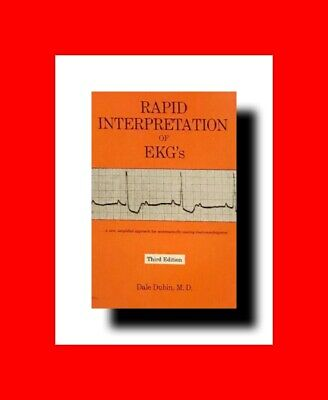 HEART MEDICINE BOOK:RAPID INTERPRETATION OF ECG/EKG'S THIRD(3rd)ED%DALE DUBIN MD