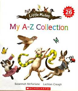 26 BOOKS LITTLE MATES MY A-Z COLLECTION AUSSIE ANIMALS NEW BOXED Minchinbury Blacktown Area Preview