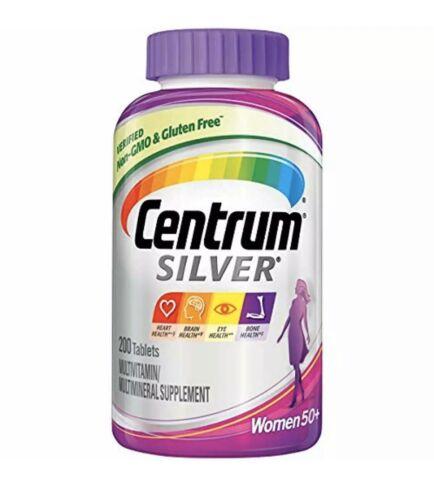 Centrum Silver Women50+  Multivitamin / Multimineral Supplem