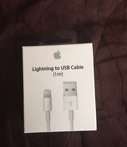 *New in box* Authentic Apple Lightening to USB Cable (1m)