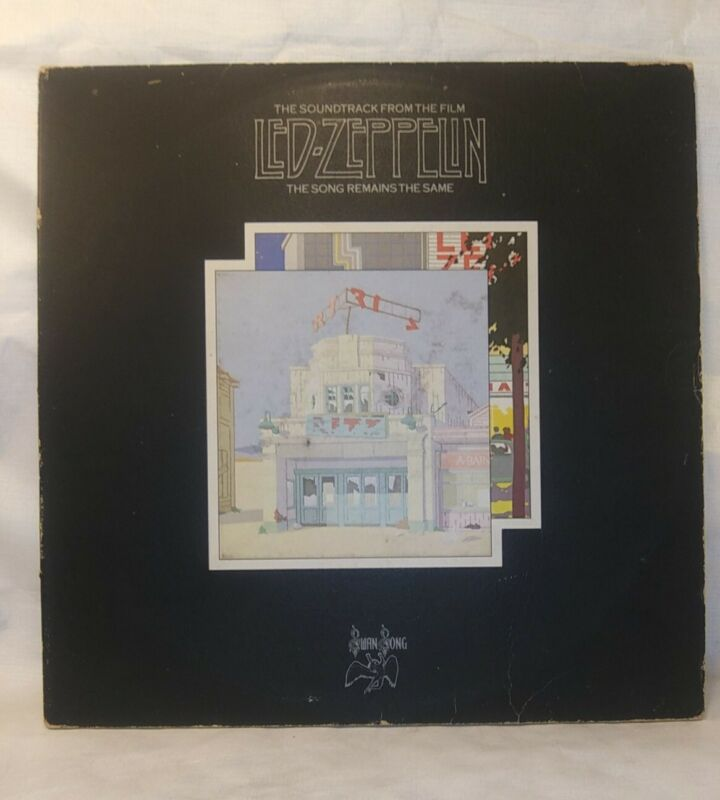 Vintage Led Zepplin. Soundtrack From The Film The Song Remains The Same .Rare