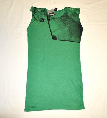 Women's PUMA x HUSSEIN CHALAYAN Sail Print Dress Green size S $120