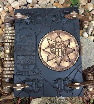 Mummy Book Of The Dead Replica Fan Made 1:1 Scale (book DoesOpen)