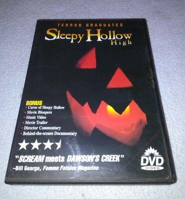 Sleepy Hollow High (DVD *RARE oop **HALLOWEEN **HORROR ()