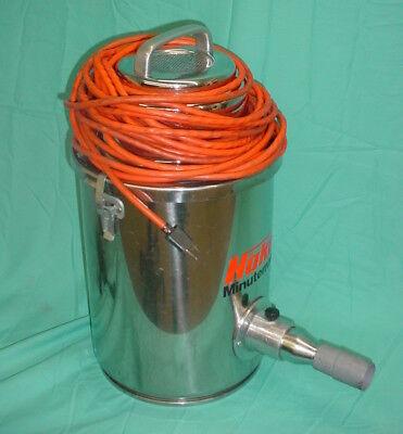 Hako Minuteman P85 Stainless Steel Hepa Filter Vacuum 115v8amp Motor C80106