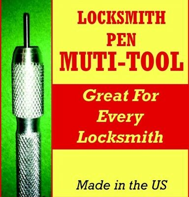 Locksmith Pen Multi-tool Broken Key Extractor