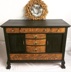 Antique Empire Buffet - Refinished