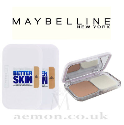 Maybelline Super Stay Better Skin perfectin powder foundation compact, sand,