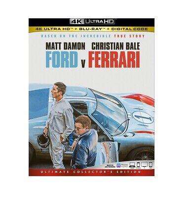 Ford v Ferrari [4K Ultra HD Blu-ray/Blu-ray] [2019]