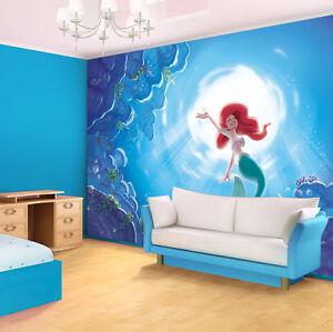 Chambre filles murale g ante papier peint photo 368x254cm - Papier peint chambre petite fille ...