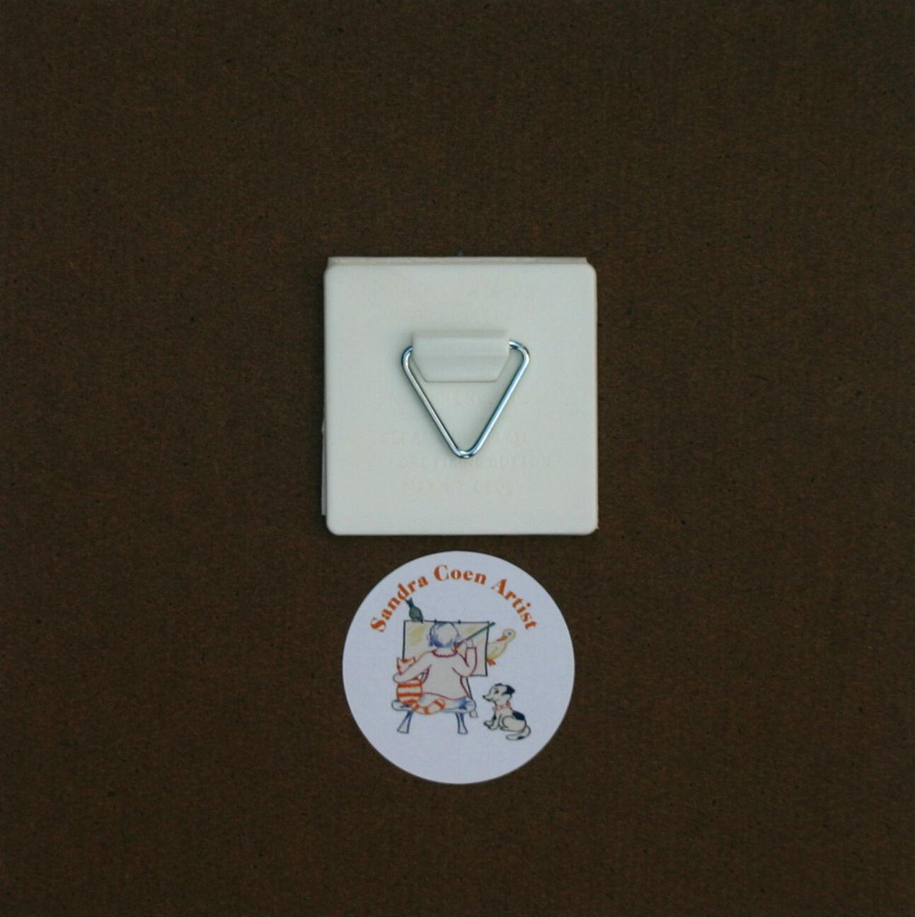 newfoundland dog hardboard plaque tile watercolour print. Black Bedroom Furniture Sets. Home Design Ideas