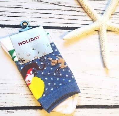 Ugly Christmas Sweater Socks Novelty Gift Geek Chic Holiday Joe Boxer