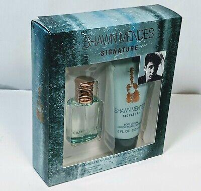 Shawn Mendes Signature 1.0 oz 30ml Body Lotion 5 oz Unisex Boxed Set